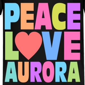 Peace Love Aurora Baby & Toddler Shirts - Toddler Premium T-Shirt