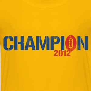 FANTASY FOOTBALL CHAMPION 2012 Kids' Shirts - Kids' Premium T-Shirt