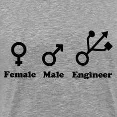 Female, Male, Engineer