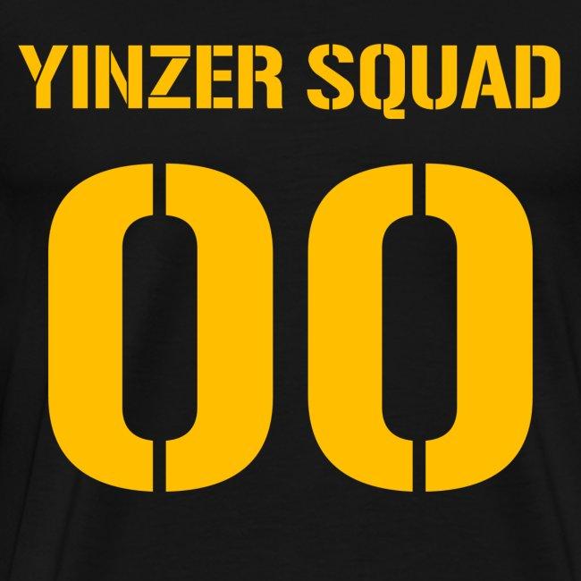 Yinzer Squad Mens Heavy Black