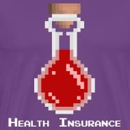 Design ~ Health Coverage Men's Heavyweight T-Shirt