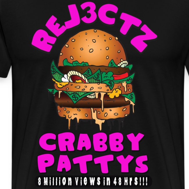 CRABBY PATTYS MENS HEAVYWEIGHT TEE
