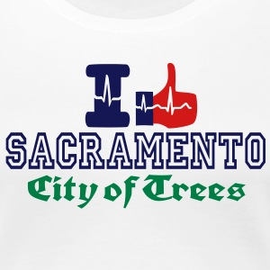 i like sacramento city of trees Women's T-Shirts - Women's Premium T-Shirt