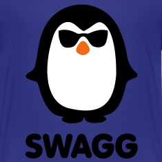 SWAGG pinguin Kids' Shirts