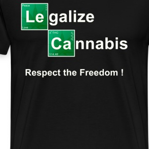 Legalize Cannabis T shirt. - Men's Premium T-Shirt