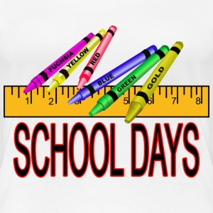 School Days - Women's Premium T-Shirt
