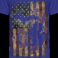 Design ~ Michigan - USA Flag