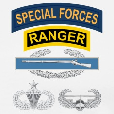 SF Ranger CIB Airborne Senior Air Assault