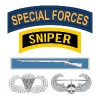 SF Sniper EIB Airborne Air Assault - Men's Premium T-Shirt