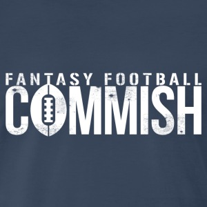 FANTASY FOOTBALL COMMISH T-Shirts - Men's Premium T-Shirt