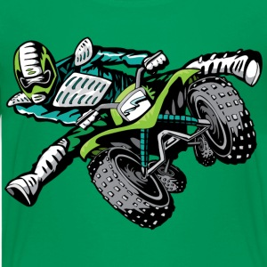 Extreme Green ATV Quad Freetyle - Kids' Premium T-Shirt