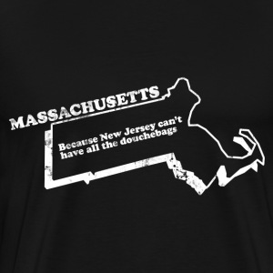 MASSACHUSETTS STATE SLOGAN T-Shirts - Men's Premium T-Shirt