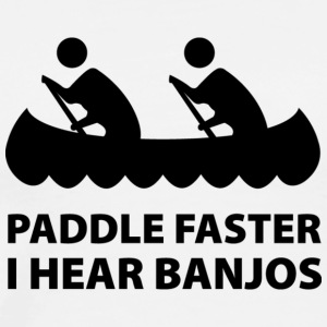 Paddle Faster - Men's Premium T-Shirt