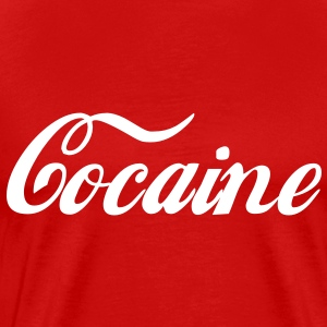 Cocaine T-Shirts - Men's Premium T-Shirt