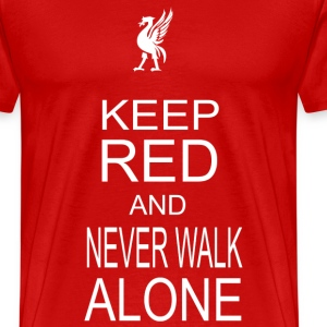 keep red - Men's Premium T-Shirt