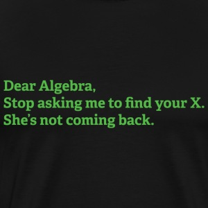 Dear Algebra - Men's Premium T-Shirt