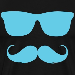 Cool Moustache - Men's Premium T-Shirt
