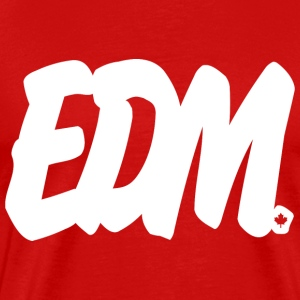 EDM Brushed B - Men's Premium T-Shirt