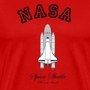 NASA Space Shuttle:  Taxi to the Stars! T-Shirts - Men's Premium T-Shirt