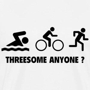 Threesome Anyone ? - Men's Premium T-Shirt