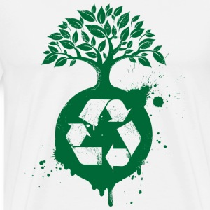 Green Recycle - Men's Premium T-Shirt