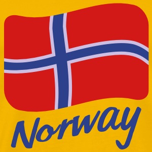 norway_flag_3c T-Shirts - Men's Premium T-Shirt