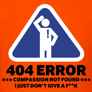 404 Error - Men's T-Shirt
