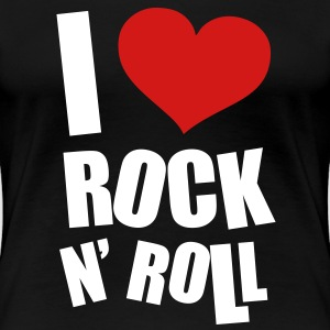 I Love Rock N Roll Women's T-Shirts - Women's Premium T-Shirt