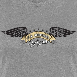 Air Force Mom Winged Insignia Women's T-Shirts - Women's Premium T-Shirt