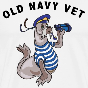 US Navy Veteran T-Shirt - Men's Premium T-Shirt