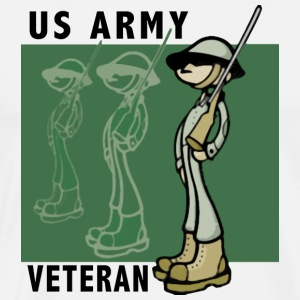US Army Veteran - Men's Premium T-Shirt
