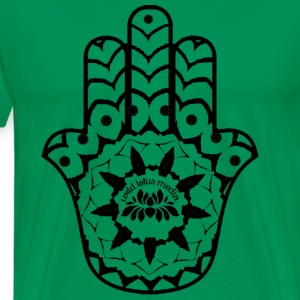 Wild Lotus Media Hamsa T-Shirts - Men's Premium T-Shirt