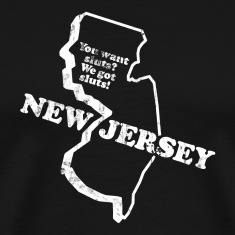 NEW JERSEY STATE SLOGAN T-Shirts