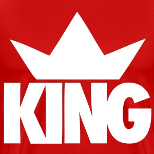 King Crown T-Shirts - stayflyclothing.com - Men's Premium T-Shirt