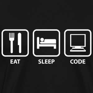 Eat Sleep Code - Men's Premium T-Shirt