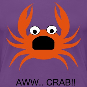 AWW CRAB!! GIRL - Women's Premium T-Shirt