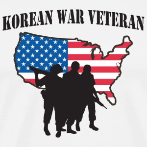 Korean War Veteran T-Shirt - Men's Premium T-Shirt