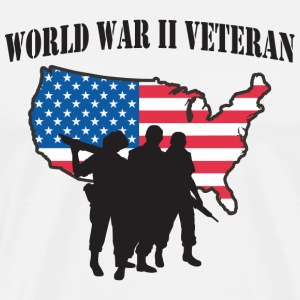 World War II Veteran - Men's Premium T-Shirt