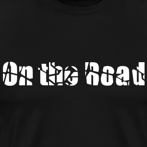 On the road - Men's Premium T-Shirt