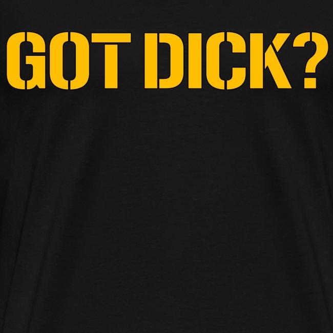 Got Dick? Black
