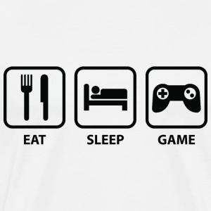 Eat Sleep Game - Men's Premium T-Shirt