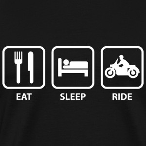 Eat Sleep Ride - Men's Premium T-Shirt
