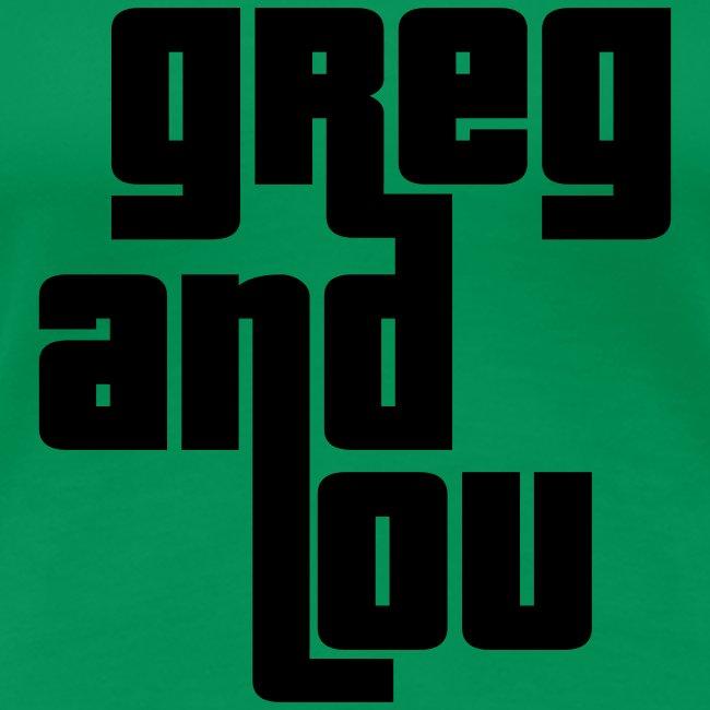 Greg and Lou (black text)