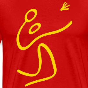 Olympic Badminton T-Shirts - Men's Premium T-Shirt