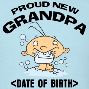 Personalized Going To Be Grandpa T-Shirt - Men's T-Shirt