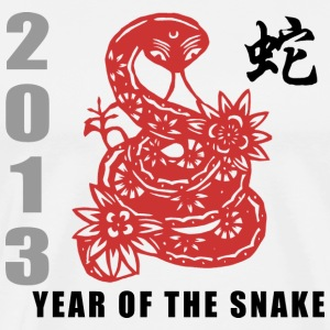 Year of The Snake 2013 - Men's Premium T-Shirt
