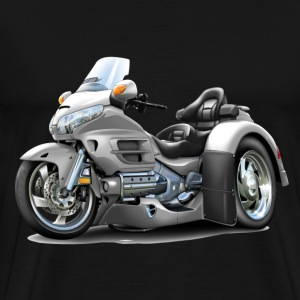 Goldwing White Trike T-Shirts - Men's Premium T-Shirt