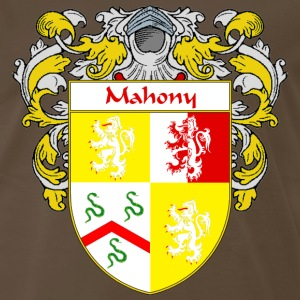 Mahony Coat of Arms/Family Crest - Men's Premium T-Shirt