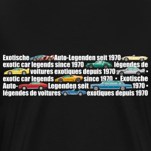 exotic-legends-banner (white font) - Men's Premium T-Shirt