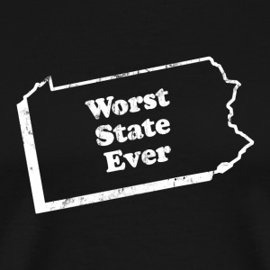 PENNSYLVANIA - WORST STATE EVER T-Shirts - Men's Premium T-Shirt